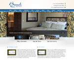 Website Design / Development for At the Beach Retreat
