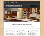 Website Design / Development (Wordpress) for Dakora Homes & Construction
