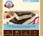 Website Design / Development for Rocky Point Ice Cream